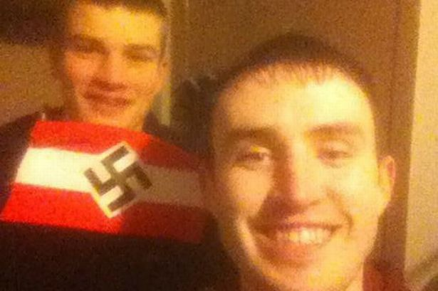 Man imprisoned for six months for sending woman picture of himself with a Nazi flag