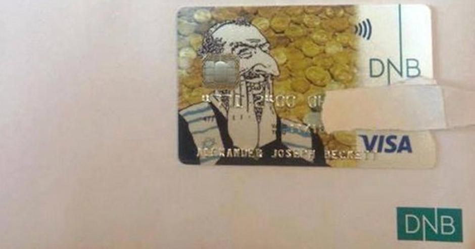 Norwegian bank apologises for antisemitic credit card