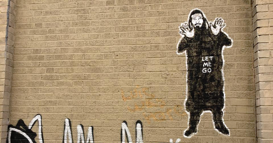 Bizarre antisemitic caricature found painted on wall in New York