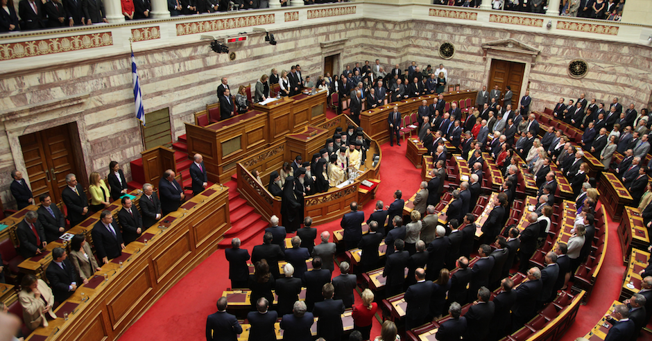 Greek Parliament told that Jews are manipulating the pharmaceutical industry