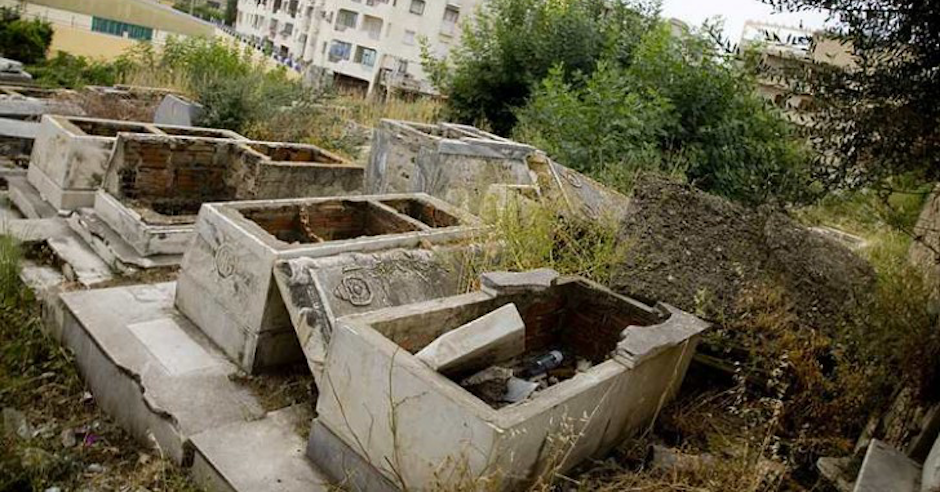 Algerian Jewish cemetery destroyed by vandals