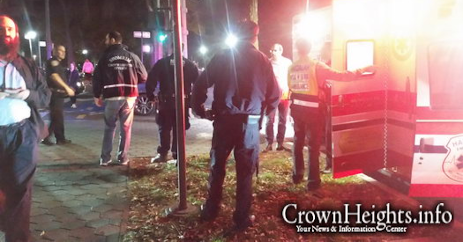 Orthodox Jewish man stabbed in back in New York's Crown Heights
