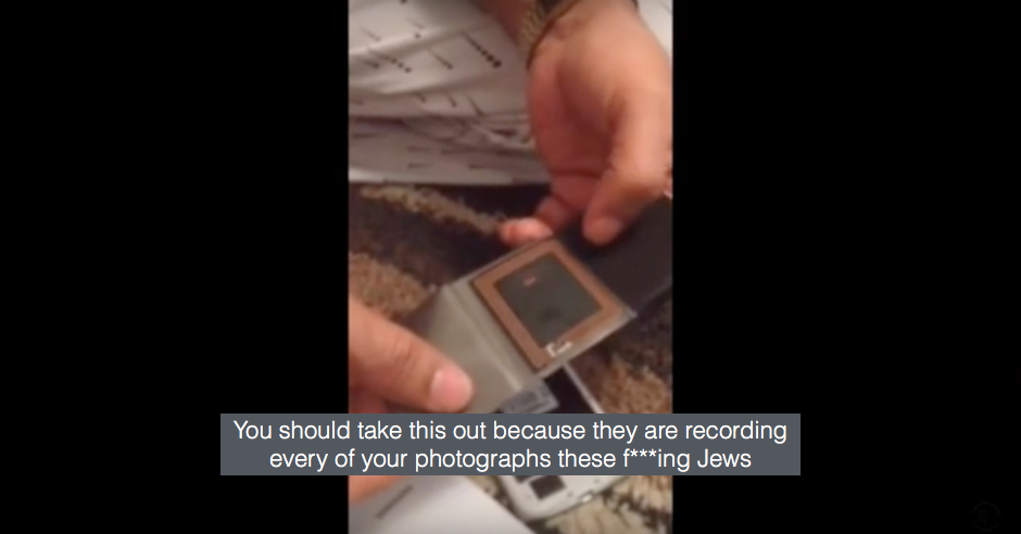 "Charity trustee who made a video claiming ""f***ing Jews"" track Samsung smartphones and posted it on charity's Facebook page allowed to stay on"