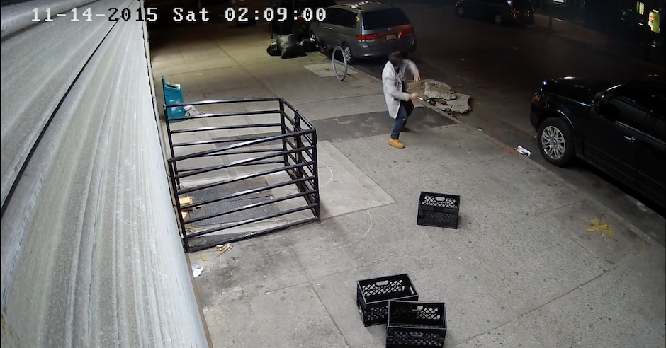 New York police hunt men who threw eggs at Jewish pedestrians and sped off in silver BMW