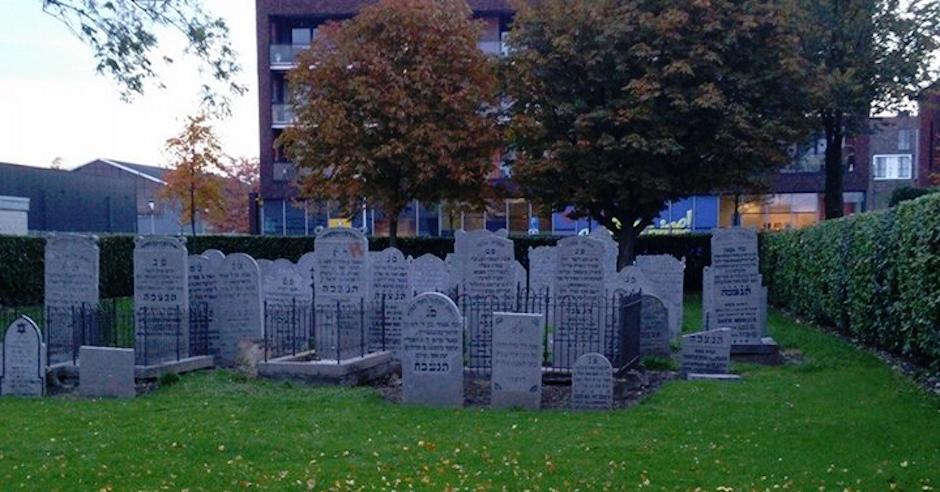 Nine headstones toppled at Netherlands Jewish cemetery