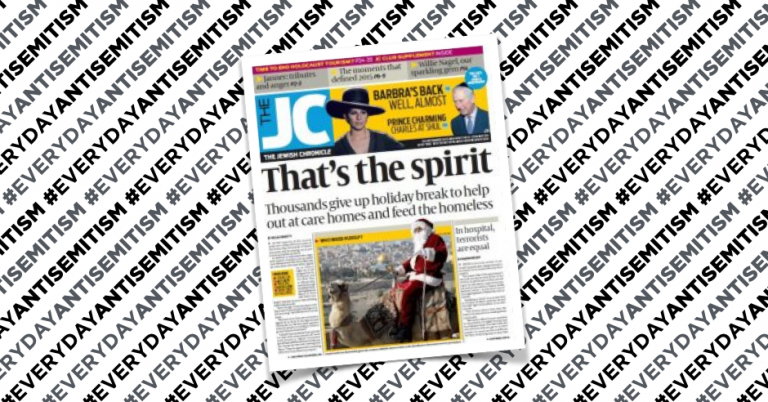 British man receives Jewish newspaper smeared with faeces
