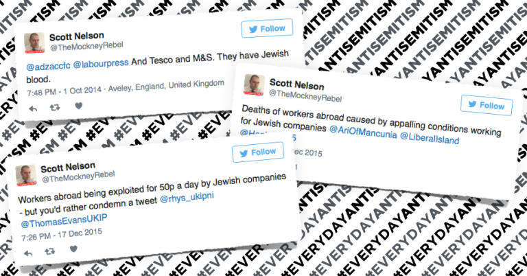 "British activist expelled from Labour Party for ""Jewish blood"" tweets"