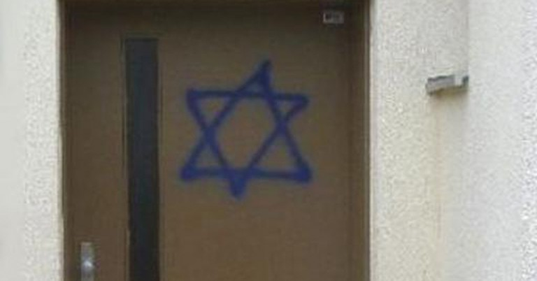 Property in Munich, Germany vandalised with Star of David graffiti
