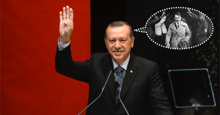 Turkish Prime Minister explains he 'only' wants the same powers as Hitler