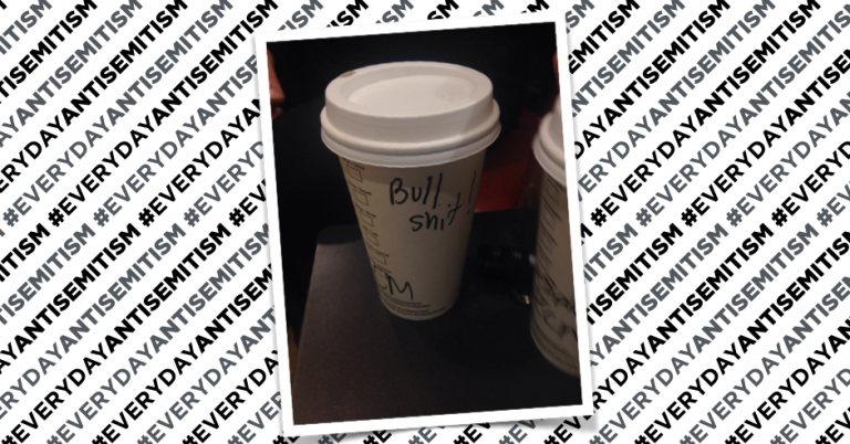 "Starbucks employee writes ""Bulls***"" instead of name on Jewish man's cup in Montreal"
