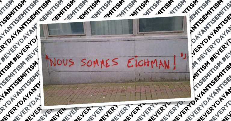 """We are Eichmann"" found sprayed on wall of Brussels arts college"