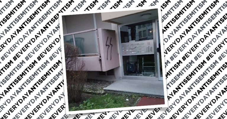 Jewish retirement home defaced with Nazi grafitti in Germany