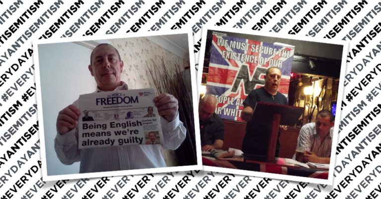 Ex-BNP thug pleads guilty to directing antisemitic abuse at MP