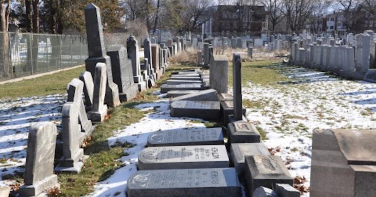 22 gravestones vandalised at Connecticut Jewish cemetery