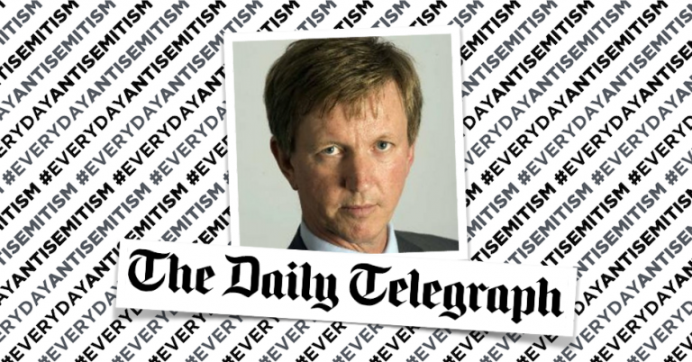 "UK's Daily Telegraph removes reference to Jewish financier as ""Latter day Shylocks"""