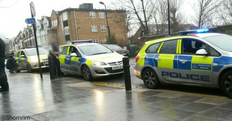 14-year-old detained by London Shomrim and arrested by police for attacking Jews with fireworks