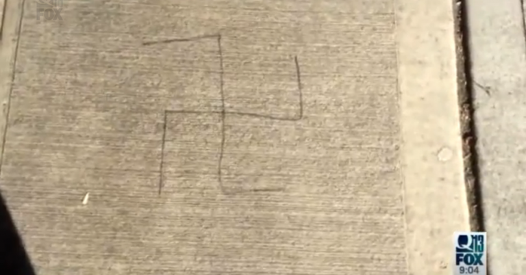 Swastikas found outside Jewish family's business in Seattle, Washington for the second time