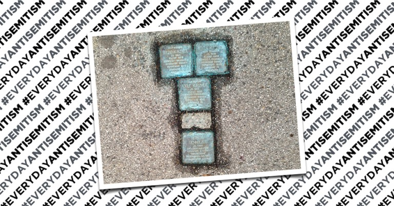 Further reports of vandalism against 'Stolperstein' Holocaust memorials in Austria