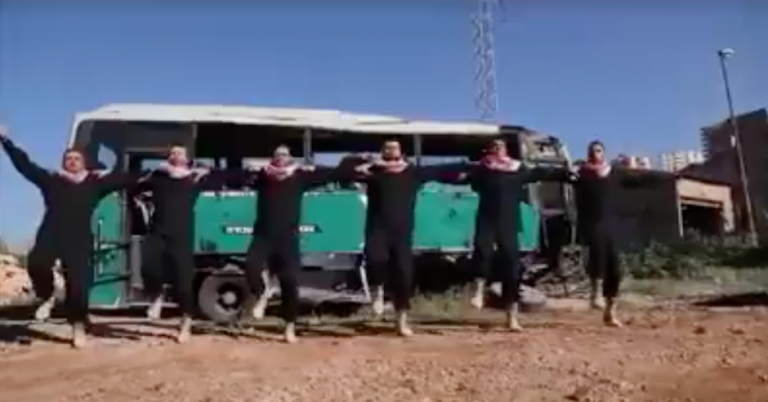 "Hamas music video calls for bus bombings to ""roast"" Jewish flesh"