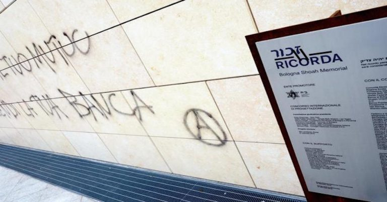Holocaust Memorial Vandalized