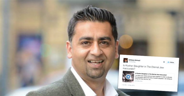 Bradford Councillor connected to disgraced Naz Shah tweets Nazi propaganda