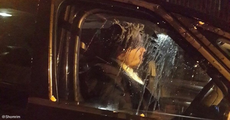 London Jewish family's car egged by attackers shouting antisemitic abuse