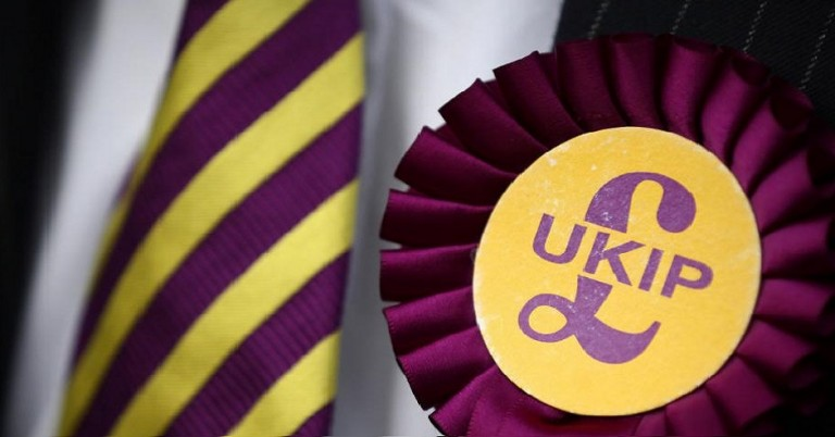UKIP expels senior official after 'antisemitic abuse' at Christmas party