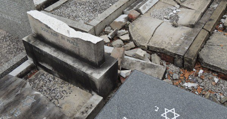Jewish cemetery in Manchester vandalised overnight
