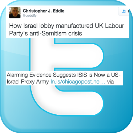 Green Party Candidate for Councillor spreads Antisemitism online
