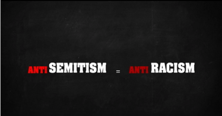 "'Anonymous' video attempts to redefine antisemitism as ""anti-racism"""