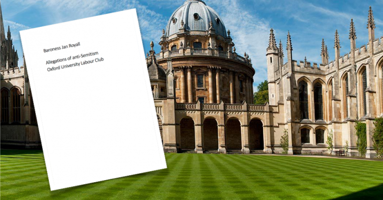 Leaked report into Oxford University Labour Club antisemitism seems designed to be unremarkable