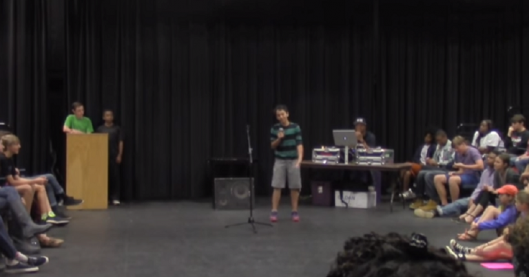 "14-year old viral poet called ""filthy k*ke rat"", ""jew rat"", told Jews are ""lying demons"""
