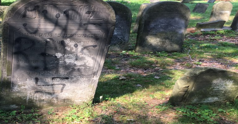 Jewish Cemeteries Desecrated In Poland and Moldova