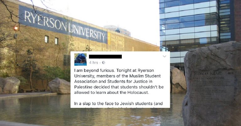Canada: Muslim students and SJP block Holocaust Education Week, intimidate Jewish student attempting to attend vote