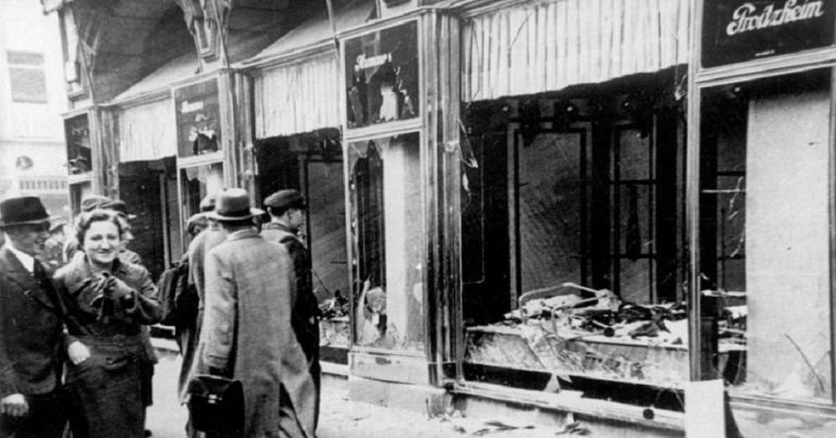 German neo-Nazis publish addresses of Jewish sites on Kristallnacht