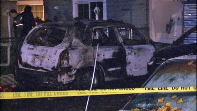"Jewish family's cars set on fire, ""Jews die"" graffiti outside their house"