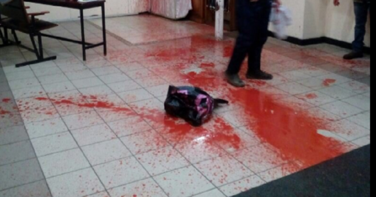 Rabbi Nachman's grave desecrated with pig's head, blood