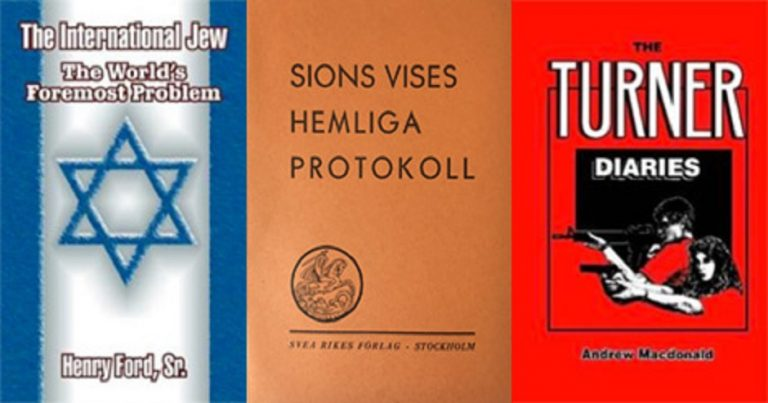 Scandinavian online bookshop selling antisemitic propaganda for the fourth time