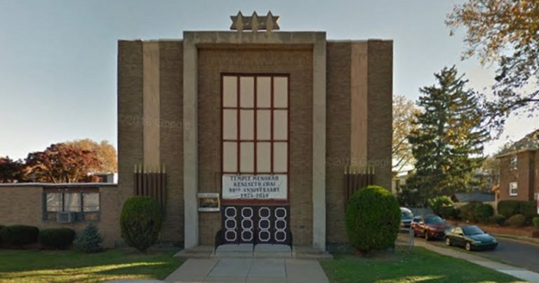 Philadelphia Synagogue has windows smashed twice in two months