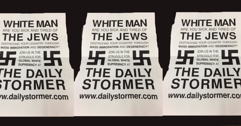 Hackers blamed for antisemitic print-outs at US university
