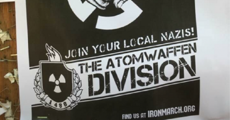 Neo-Nazi group Atomwaffen Division attempting to recruit students on American campuses