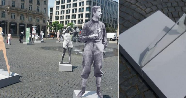 Germany: statues of Jewish sporting heroes who were persecuted by the Nazis destroyed