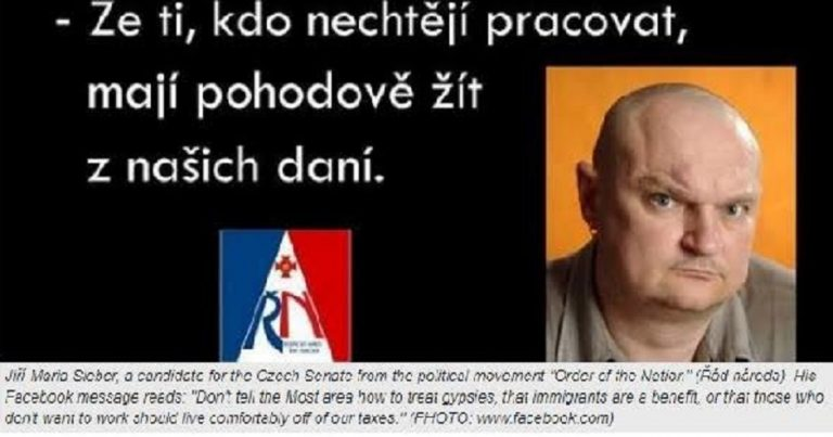"Czech Nationalists ""blame the Jews"" for country's problems, as rising far-right party stands Holocaust denier in regional elections"