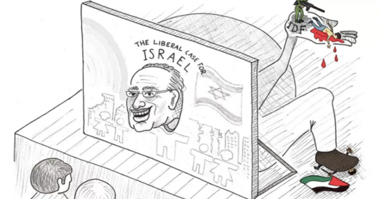 UC Berkeley apologises after students publish blood libel cartoon depicting Alan Dershowitz