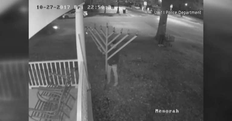 Several public menorahs vandalized over Chanukah