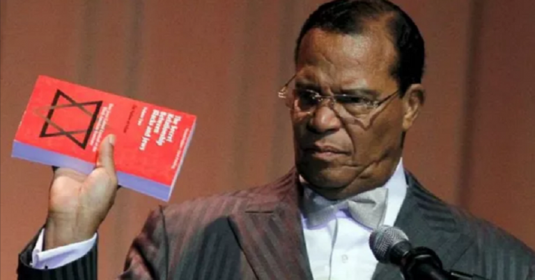 "Louis Farrakhan, darling of Women's March leaders, decries ""Satanic Jews"" who ""infected the whole world"""