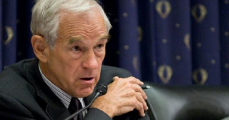 Ron Paul tweets, then deletes, antisemitic and racist cartoon by well known far right artist